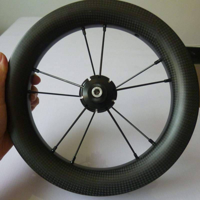 12 inch balance bike carbon wheel 12'' kids bike wheel