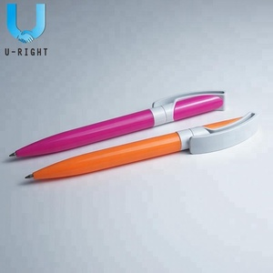 Plastic Best Solid Color Ballpoint Pen for Promotion