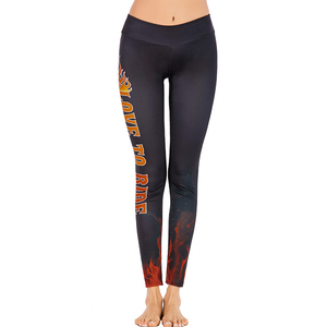 Senhao Top Quality New Tide Fitness Women Pants Best-Selling Product Personality Letter Fitness Printed Yoga Pants For Women.