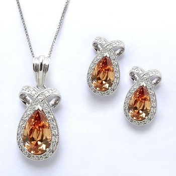Big Silver Jewelry Sets With Stones