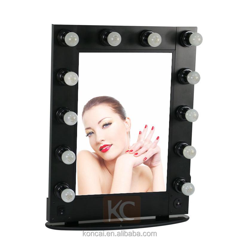 Hot Sale Aluminum Frame Stand Table Decorative Led Light Hair ...