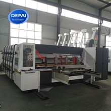 Corrugated flexo printer slotter prices corrugated cardboard carton box making machine