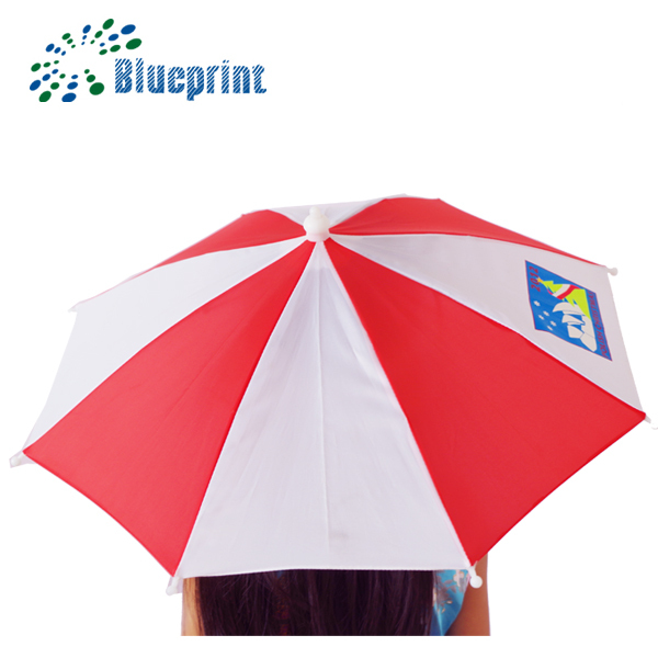 cheap promotional football fan umbrella hat