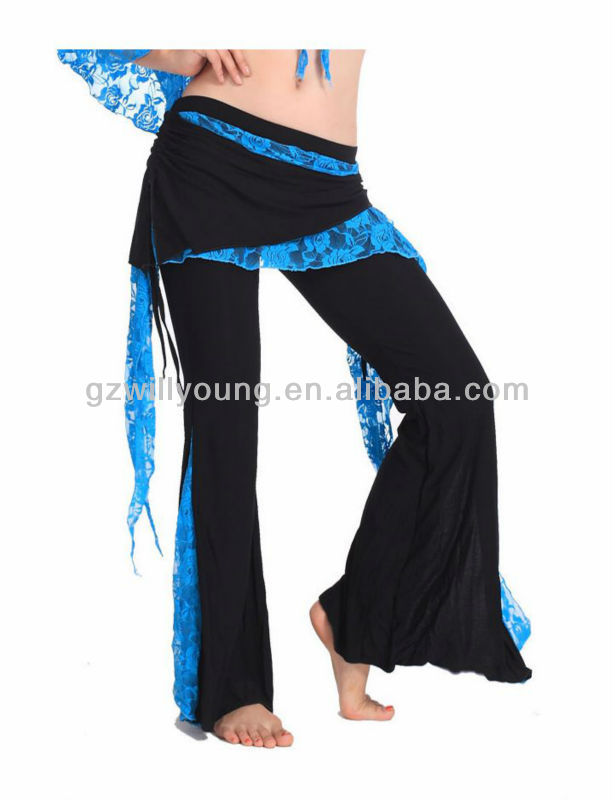 Practice Tribal Belly Dance Skirt Pants,Belly Dance Bell-bottoms Trousers11Colors