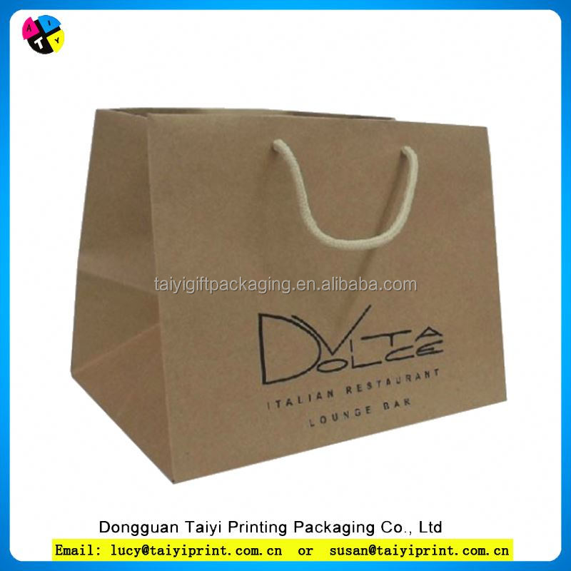 Multifunctional kraft raw materials of paper bag for clothing