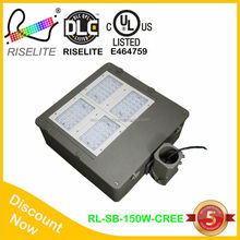UL DLC Led shoe box light replace 450w MH