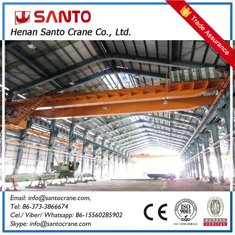 Durable And Reliable Industry Application Two Beam Traveling Crane