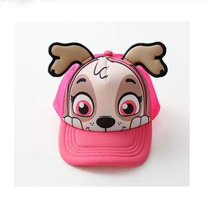10fd4399e71 2019 Fashion Style Kids Trucker Hats Baseball Mesh Cap Funny Customized  Cute 5 Panel Cap printing