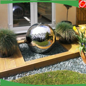 Mirror Finishing 600mm Water Feature Sphere Ball Fountain Ball