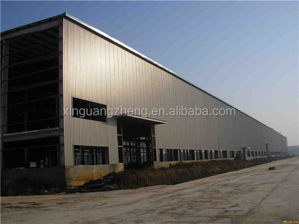 special offer affordable long span steel truss frame warehouse