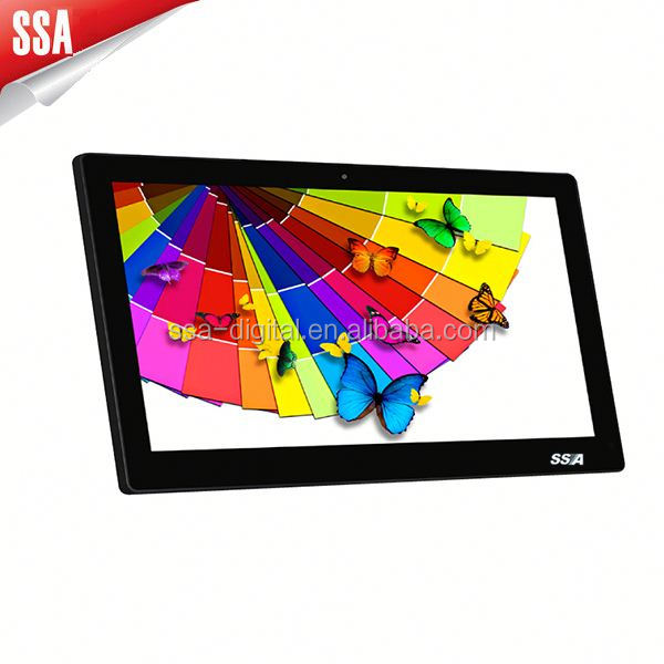 15.6 inch touch screen tablet pc for taxi with fix screws Quad core RK3188 big size tablet PC