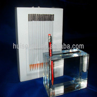 Factory Direct Plexiglass Pen Holder with Simple Shaped