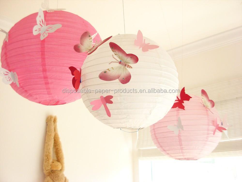 Decorazioni Con Lanterne Cinesi : Decorativi lanterne cinesi da sposa lanterne farfalla idee