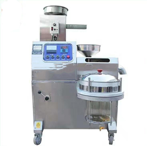 Latest automatic high efficiency peanut palm coconut Cooking oil popular making mini oil press
