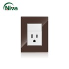 modern switch US Standard ,super switch gb14048.5,hotel switch light wall electrical switch socket