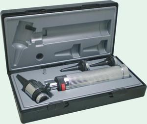 plastic pediatric penlight riester otoscope with optic fiber