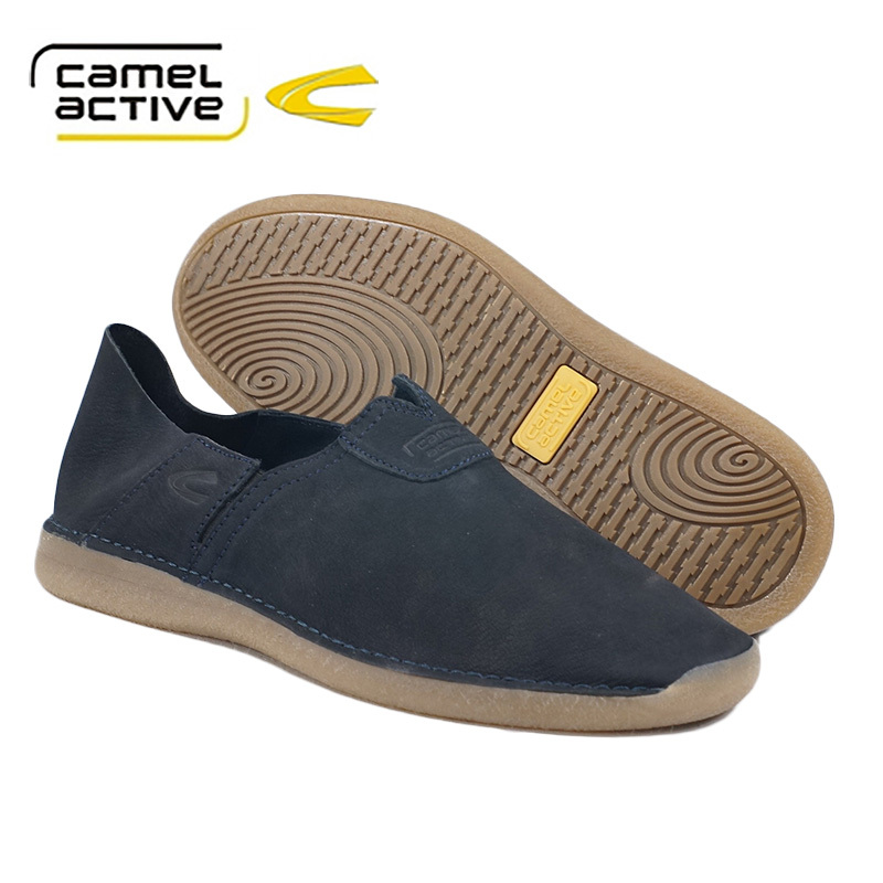 Fashion Camel Active.casual shoes Made in Italy comfortable unisex Loafers shoes fall round-ended rough  Leather shoes Women Men