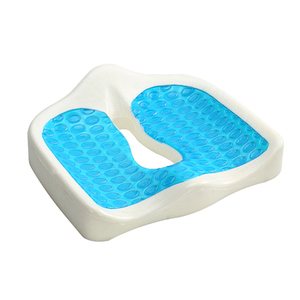Coccyx Orthopedic Gel-Enhanced Comfort Foam Seat Cushion,Gel Memory Foam Zero Gravity Adult Car Chair Seat Cushion