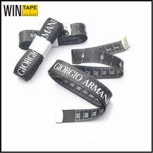 Less Than 1 Dollar Prmotional Gift Custom Black Tailor Tape Measure To Print 60""