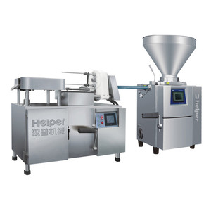 Food Processor Sausage Twisting with Filling Machine Price