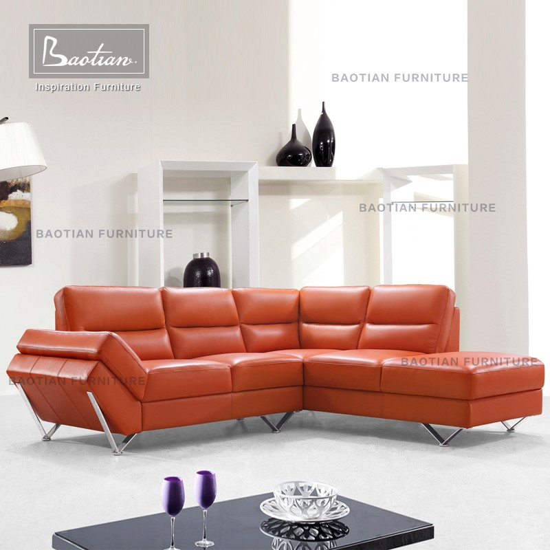 Alibaba genuine leather sectional sofa modern colorful sofa furniture