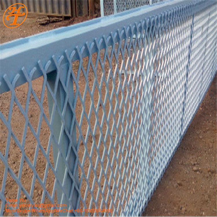 High Speed Road Security Expanded Metal Fence Price Buy