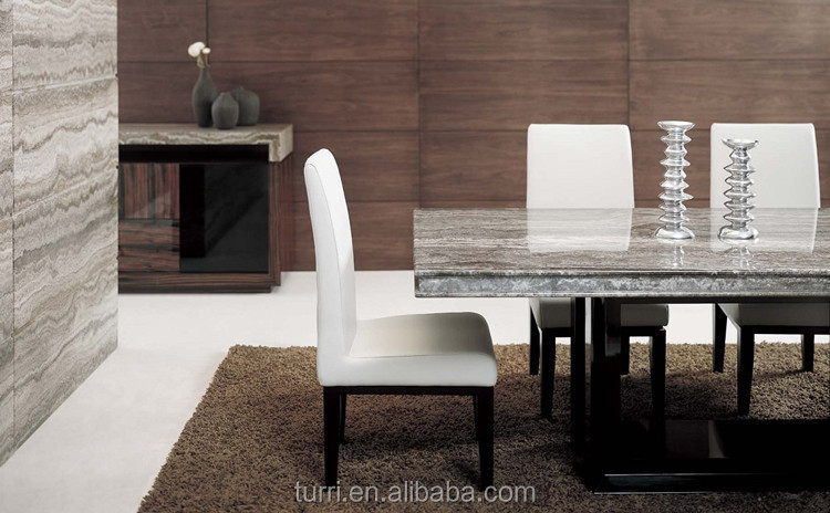 Luxury Marble Top Dining Table For Living Room Furniture