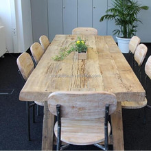 asian antique reclaimed wood slab tables