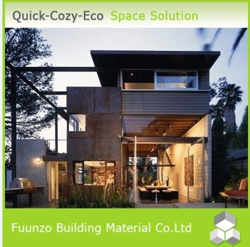 Panel sandwich acero prefabricada casa modular de 3 - Casa modular acero ...