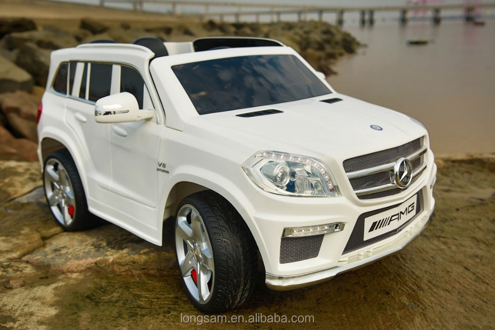 Ls 628 Licensed Mercedes Suv Style Kids Ride On Cars Two Seats With Opening Doors