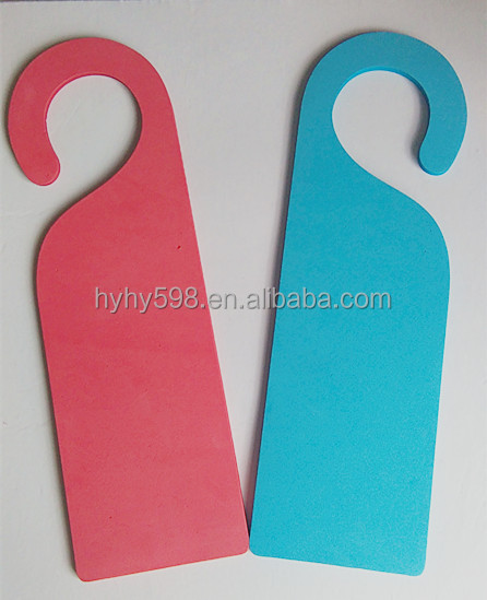2015 New Customized plastic door hanger/do not disturb card/DOD cards