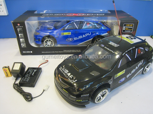 939-43 1:10 RC Drift Racing Mobil Dengan LED Light RC Mobil Turbo Kit