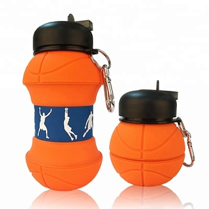 Patent Collapsible Souvenir Children Basketball Customised Water Bottle