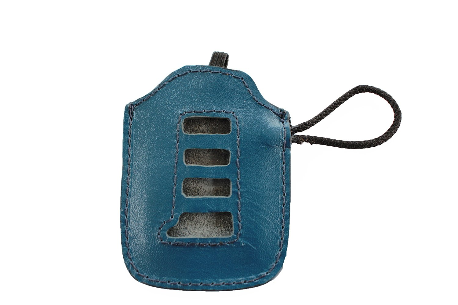 Deep Sea Mica Blue Leather Key Fob Cover For Lexus IS200t IS250 IS300 IS350 ES300h ES350 GS200t GS350 GSF RC200t RC300 RC350 RCF NX200t NX300h RX350 RX450h LS460 LS600h HYQ14FBA