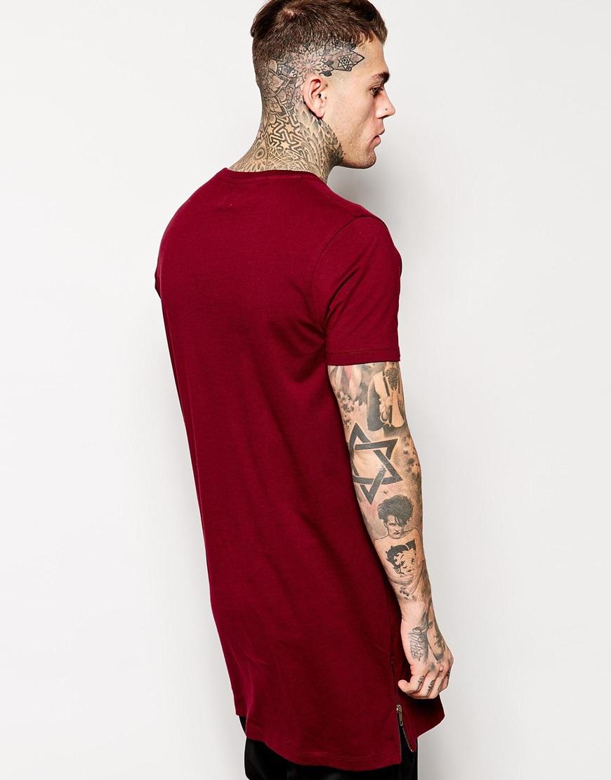Hot Sale Personalize Tops Apparel Longline T Shirt Blank T-shirt ...