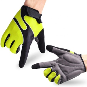 Outdoor Motorbike Sports Leather Touchscreen Motorcycle Racing Gloves