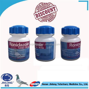 Generic Veterinary Drugs for Pigeons 30% Ronidazole Tablets