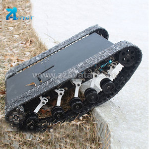 Inspection robot used rubber track vehicle undercarriage 300 system gold supplier