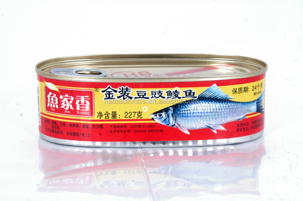 227g Canned Dace With Black Bean