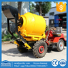 GT80 diesel concrete batching mixer /cement mixer portable