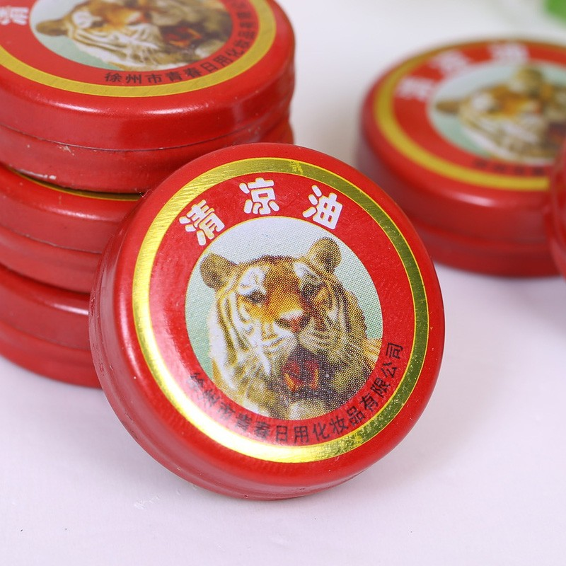 Wanbao Balm used for skin repairing and anti-mosquit bites