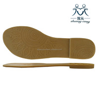 Hot sale TPR PVC outsole new design wholesale ladies shoe soles