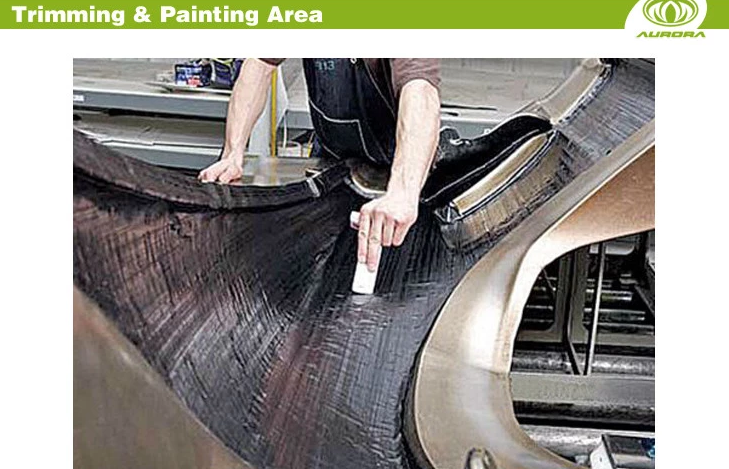 luxurious newest carbon fiber rolling case 21