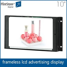 Flint stone 10 inch chinese xvideos open frame display backboard digital signage tablet lcd advertising player