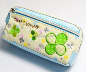 High Quality 3 Pocket Pencil Bag for Kids
