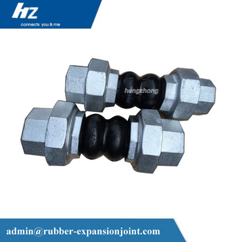 China supplier pipe fittings connection product rubber joint