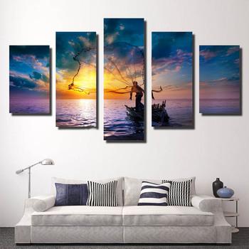 5 Pièces Peinture Film Figure Affiche Maison Mur Art Décor Film Photo Impression Peinture Sur Toile Pour Salon Buy La Toile Faite Sur Commande