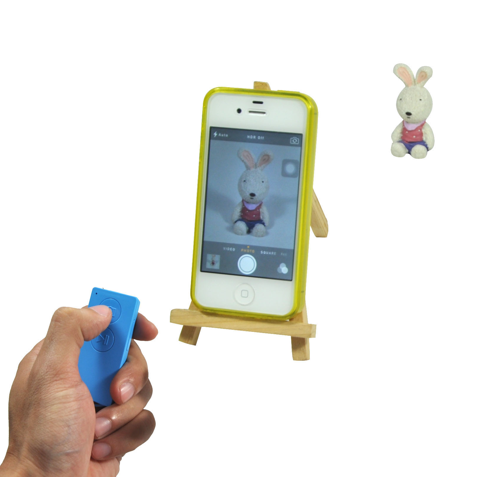Hot Selling Bluetooth Remote Shutter for iPhone and iPad