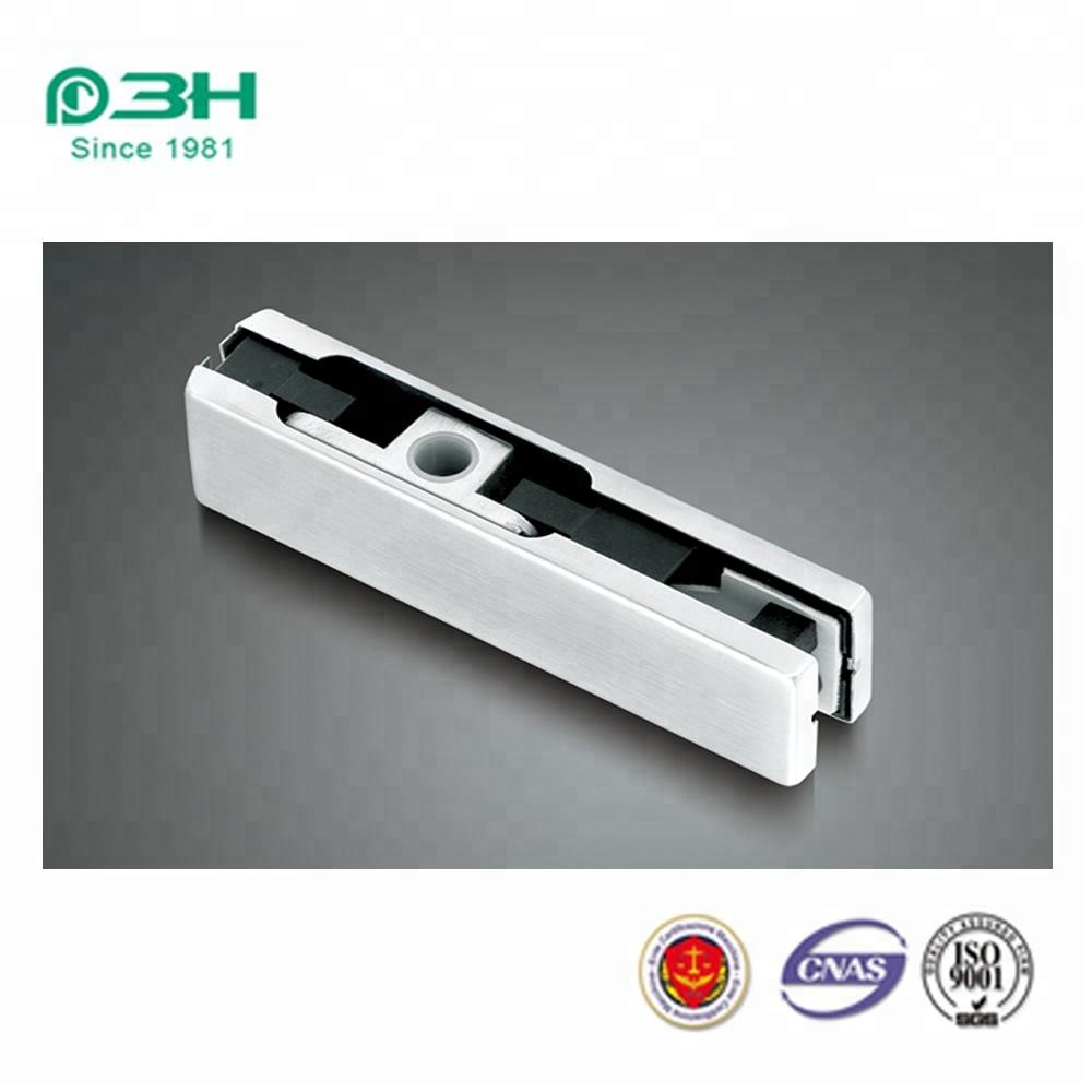 Frameless glass door control hardware 304SS upper patch fitting