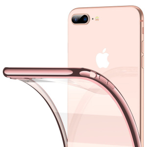 RANVOO TPU Smartphone Shell Mobile Back Cover Phone Case for iPhone 7 and 8